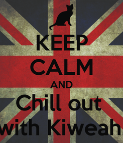 Poster: KEEP CALM AND Chill out  with Kiweah.