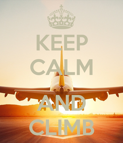 Poster: KEEP CALM  AND CLIMB