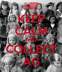 Poster: KEEP CALM AND COLLECT AG