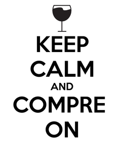 Poster: KEEP CALM AND COMPRE  ON
