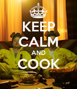 Poster: KEEP CALM AND COOK