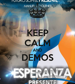 Poster: KEEP CALM AND DEMOS