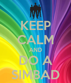 Poster: KEEP CALM AND DO A SIMBAD