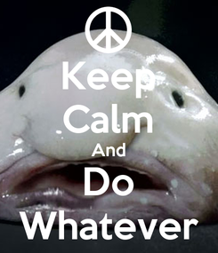 Poster: Keep Calm And Do Whatever