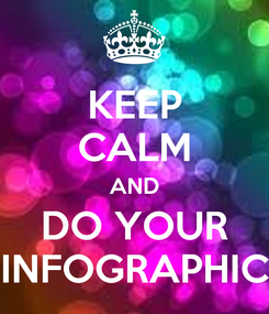 Poster: KEEP CALM AND DO YOUR INFOGRAPHIC