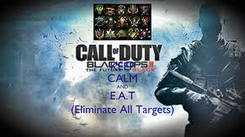 Poster: KEEP CALM AND E.A.T (Eliminate All Targets)