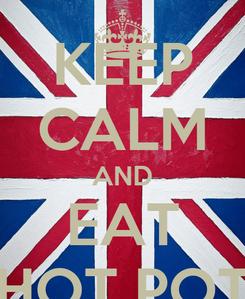 Poster: KEEP CALM AND EAT HOT POT