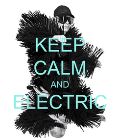 Poster: KEEP CALM AND ELECTRIC