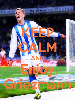 Poster: KEEP CALM AND Enjoy Griezmann