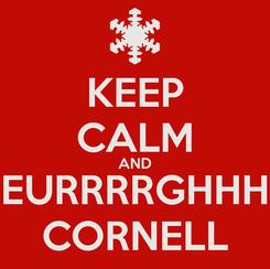 Poster: KEEP CALM AND EURRRRGHHH CORNELL