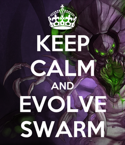Poster: KEEP CALM AND EVOLVE SWARM