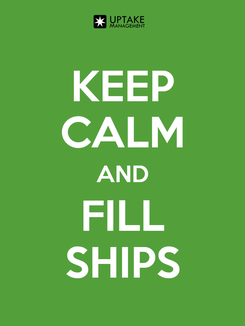 Poster: KEEP CALM AND FILL SHIPS