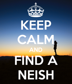 Poster: KEEP CALM AND FIND A NEISH