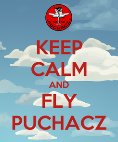 Poster: KEEP CALM AND FLY PUCHACZ