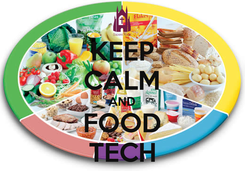 Poster: KEEP CALM AND FOOD TECH