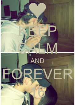 Poster: KEEP CALM AND FOREVER 16