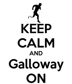 Poster: KEEP CALM AND Galloway ON