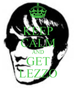 Poster: KEEP CALM AND GET LEZZO