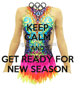 Poster: KEEP CALM AND GET READY FOR NEW SEASON
