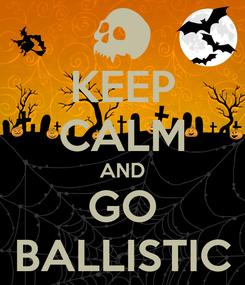 Poster: KEEP CALM AND GO BALLISTIC