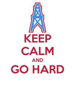 Poster: KEEP CALM AND GO HARD