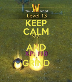 Poster: KEEP CALM AND GRIND