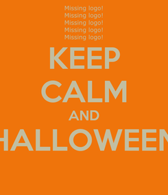 Poster: KEEP CALM AND HALLOWEEN