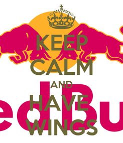 Poster: KEEP CALM AND HAVE  WINGS