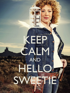 Poster: KEEP CALM AND HELLO SWEETIE