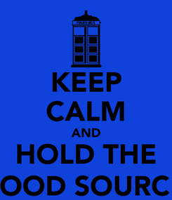 Poster: KEEP CALM AND HOLD THE BANANA, iT'S A GOOD SOURCE OF POTASSIUM!