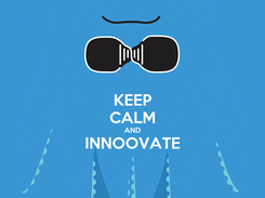 Poster: KEEP CALM AND INNOOVATE