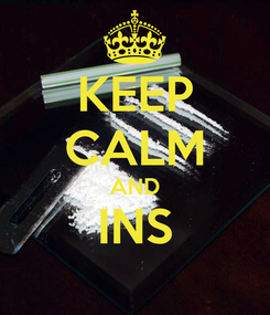 Poster: KEEP CALM AND INS