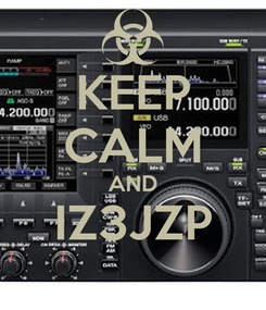 Poster: KEEP CALM AND IZ3JZP