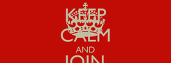 Poster: KEEP CALM AND JOIN @$AP MOB