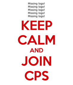 Poster: KEEP CALM AND JOIN CPS