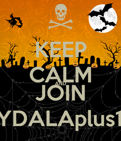 Poster: KEEP CALM AND JOIN SYDALAplus18