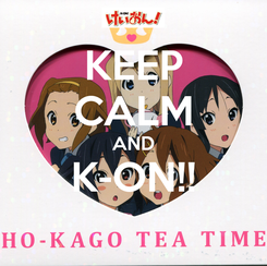 Poster: KEEP CALM AND K-ON!!