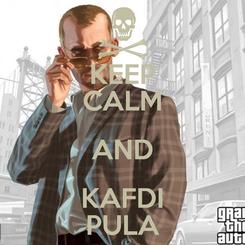 Poster: KEEP CALM AND KAFDI PULA