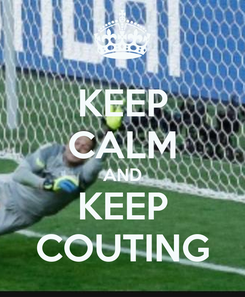 Poster: KEEP CALM AND KEEP COUTING