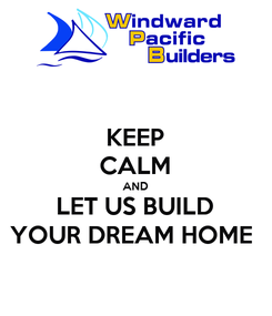 Poster: KEEP CALM AND LET US BUILD YOUR DREAM HOME