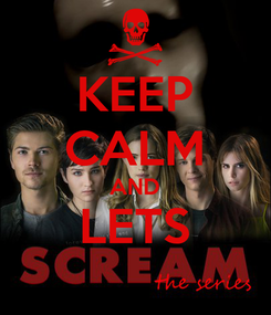 Poster: KEEP CALM AND LETS