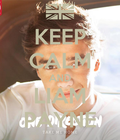 Poster: KEEP CALM AND LIAM PAYNE