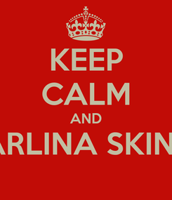 Poster: KEEP CALM AND LIKE PEARLINA SKIN STUDIO