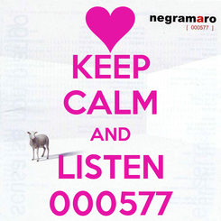 Poster: KEEP CALM AND LISTEN 000577