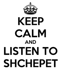 Poster: KEEP CALM AND LISTEN TO SHCHEPET