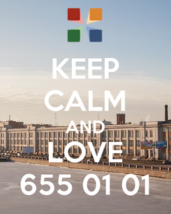 Poster: KEEP CALM AND LOVE 655 01 01