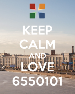 Poster: KEEP CALM AND LOVE 6550101
