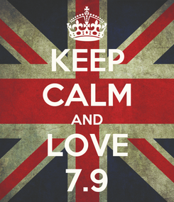 Poster: KEEP CALM AND LOVE 7.9