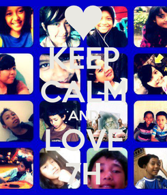 Poster: KEEP CALM AND LOVE 7H