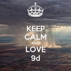 Poster: KEEP CALM AND LOVE 9d